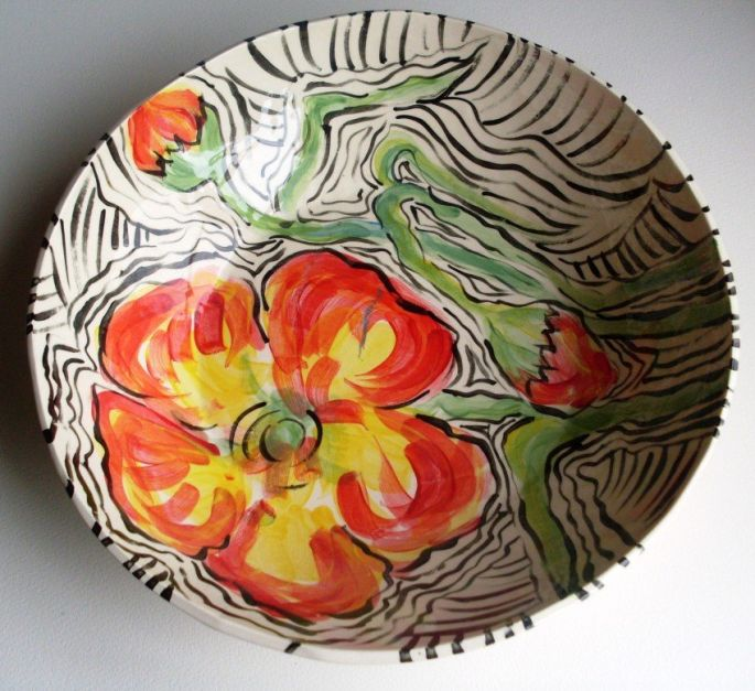 Large Flower Bowl