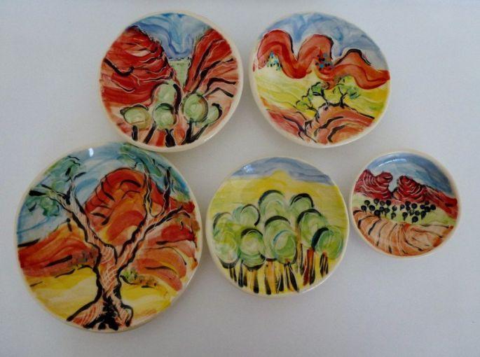 Landscape Plates