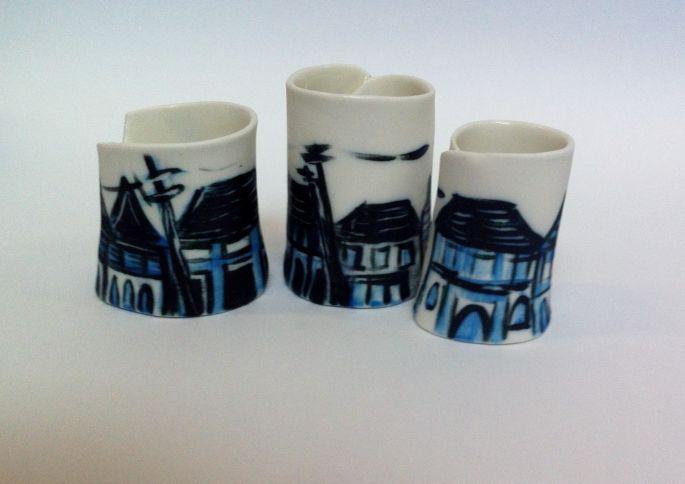 High Street Porcelaine Vessels