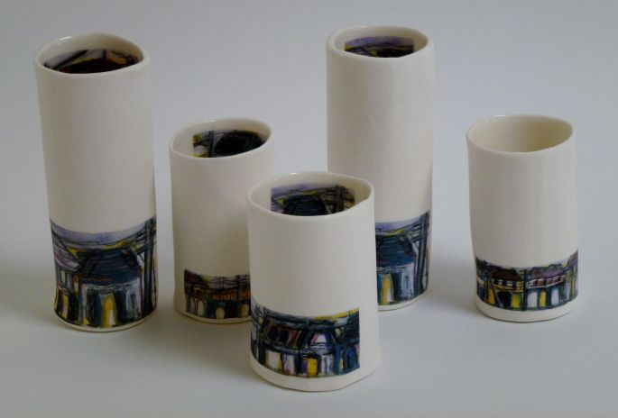 Vessels with Streetscape Decals